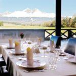 Golf rezort Black Stork reštaurácia hotela International